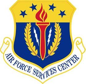 Air Force Services Center Logo